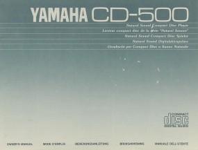 Yamaha CD-500 Bedienungsanleitung
