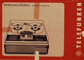 Telefunken Berolina Stereo Bedienungsanleitung