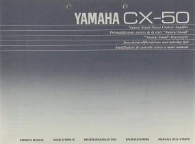 Yamaha CX-50 Bedienungsanleitung