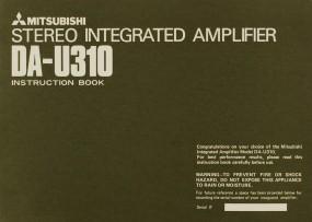 Mitsubishi DA-U 310 Bedienungsanleitung