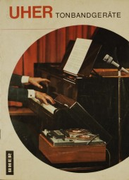Uher Tonbandgeräte Prospekt / Katalog