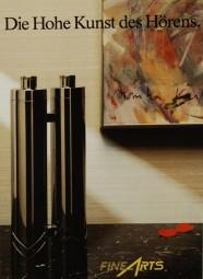 Fine Arts / Grundig Die Hohe Kunst des Hörens. Prospekt / Katalog