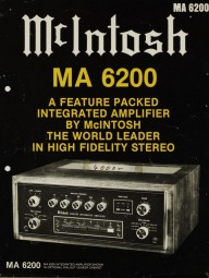 McIntosh MA 6200 Prospekt / Katalog