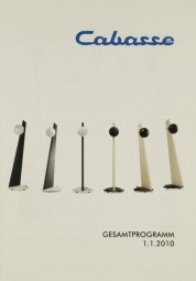 Cabasse Gesamtprogramm 1.1.2010 Prospekt / Katalog
