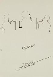 A Capella Audio Arts 5th Avenue Prospekt / Katalog