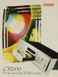 Fostex CR 200 Prospekt / Katalog
