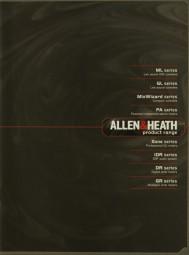 Allen & Heath Product Range Prospekt / Katalog