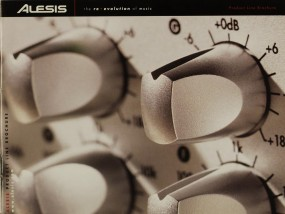Alesis Product Line Brochure (2002) Prospekt / Katalog