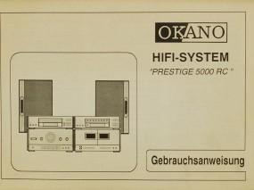 Okano Prestige 5000 RC Bedienungsanleitung