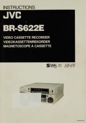 JVC BR-S 622 E Bedienungsanleitung