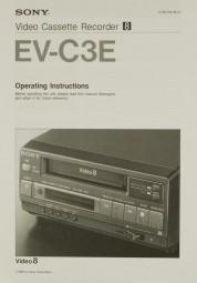 Sony EV-C 3 E Bedienungsanleitung