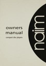 Naim Naim CD Player Bedienungsanleitung