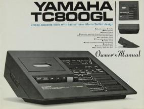 Yamaha TC-800 GL Bedienungsanleitung