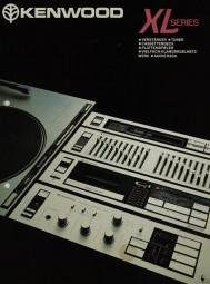 Kenwood XL Series Prospekt / Katalog