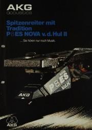 AKG acoustics P 8 ES Nova v.d. Hull II Prospekt / Katalog