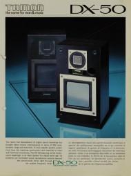 Tamon DX-50 Prospekt / Katalog