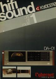 Kyocera - Cybernet DA-01 Prospekt / Katalog