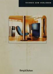 Bang & Olufsen Technik zum Verlieben (1997) Prospekt / Katalog