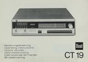 Dual CT 19 Bedienungsanleitung