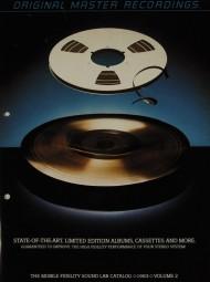 Mobile Fidelity Sound Lab The MFSL Catalog 1983 Volume 2 Prospekt / Katalog