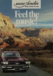 Mac Audio Feel the music! Prospekt / Katalog