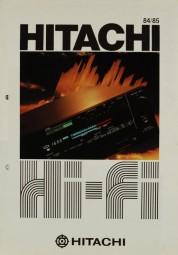 Hitachi 84/85 Prospekt / Katalog