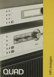 Quad HiFi-Anlagen Prospekt / Katalog