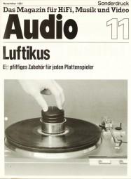Verschiedene Luftikus - Luxman, Thorens, etc. Testnachdruck