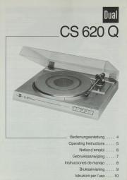 Dual CS 620 Q Bedienungsanleitung