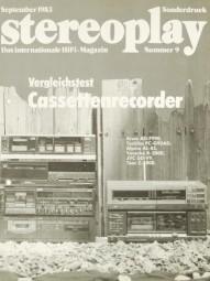 Verschiedene Vergleichstest Cassettenrecorder Testnachdruck