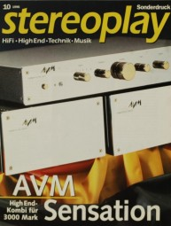 AVM AVM Sensation - Competition Pre & Mono Testnachdruck