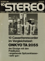 Onkyo u.a. TA 2055 u.a. Testnachdruck