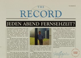 The Record Number V Zeitschrift