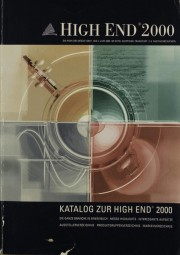 High End 2000 Katalog zur High End 2000 Zeitschrift