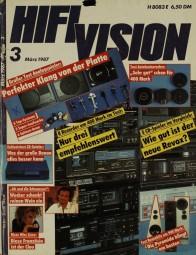 Hifi Vision 3/1987 Zeitschrift