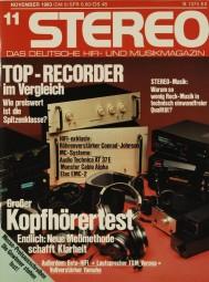 Stereo 11/1983 Zeitschrift