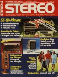 Stereo 12/1985 Zeitschrift