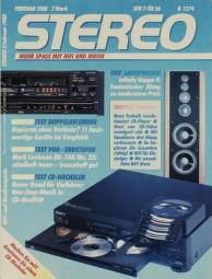 Stereo 2/1988 Zeitschrift