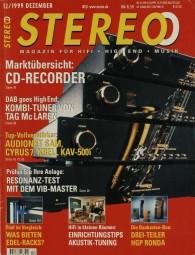 Stereo 12/1999 Zeitschrift