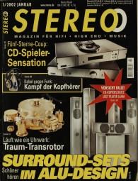 Stereo 1/2002 Zeitschrift