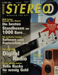 Stereo 7/2002 Zeitschrift