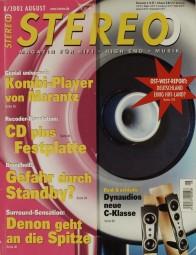 Stereo 8/2002 Zeitschrift