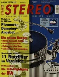 Stereo 9/2003 Zeitschrift