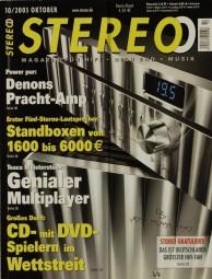 Stereo 10/2003 Zeitschrift