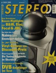 Stereo 6/2004 Zeitschrift