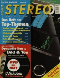Stereo 11/2004 Zeitschrift