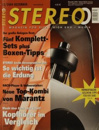 Stereo 12/2004 Zeitschrift