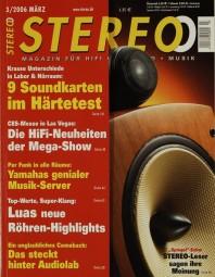Stereo 3/2006 Zeitschrift
