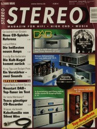 Stereo 5/2009 Zeitschrift