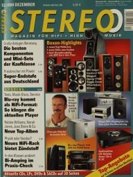 Stereo 12/2009 Zeitschrift